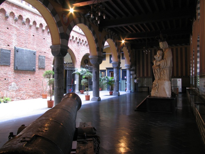 Loggia - view from the portico