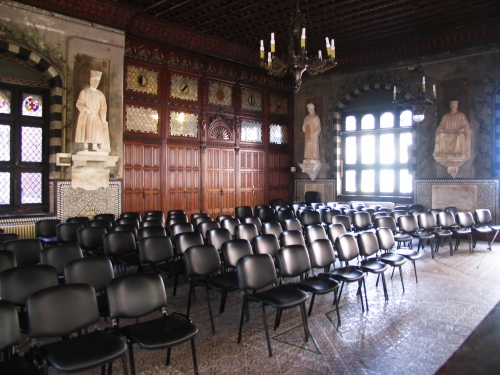 Sala del capitano -  another view of the room