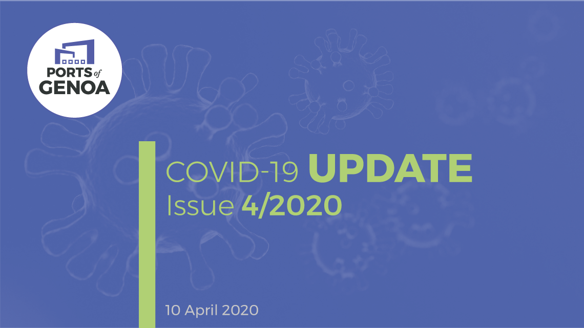 Covid-19 Update – Issue 4/2020