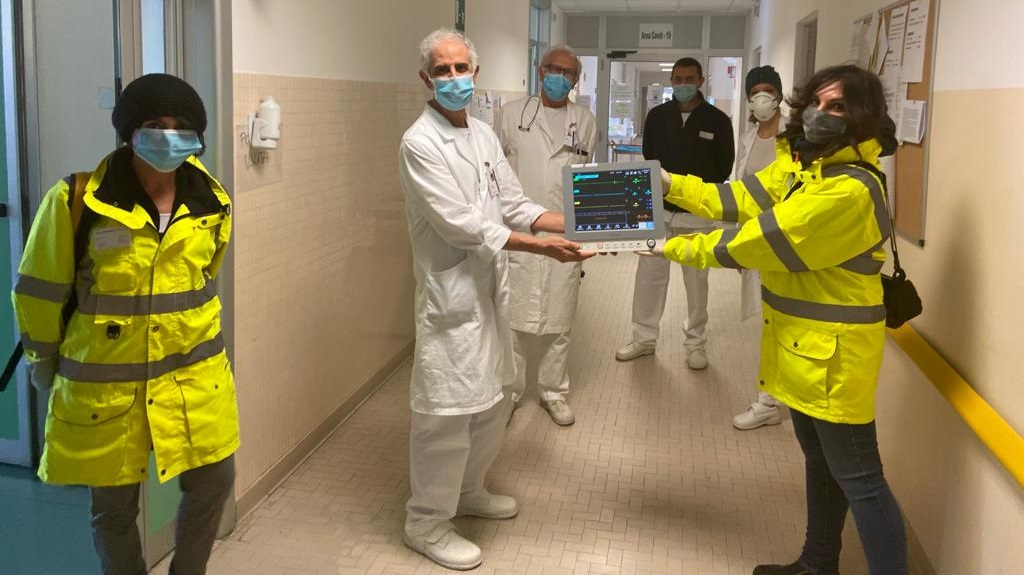 Vado Gateway donates multiparameter monitors to the San Paolo Hospital in Savona