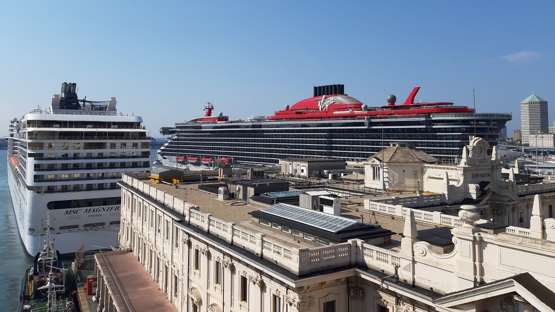 Virgin Voyages firma il Genoa Blue Agreement