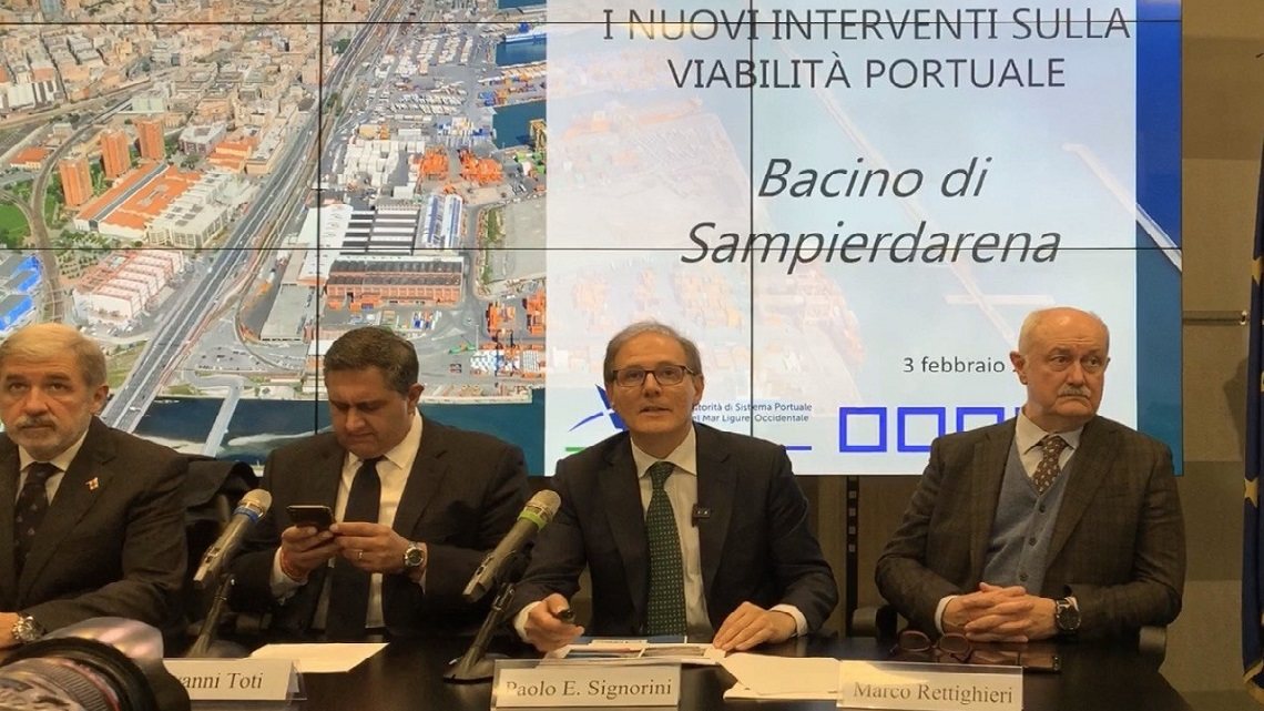 New major road construction in the Port of Genoa goes ahead