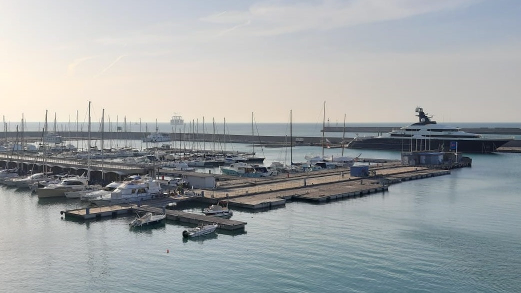 The new Port of Genoa Control Tower will be rebuilt in the Darsena Nautica marina